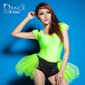 New Fashion Jazz harem ds women hip hop dance singer costume performance wear sexy neon sexy ds coverall Bodysuit