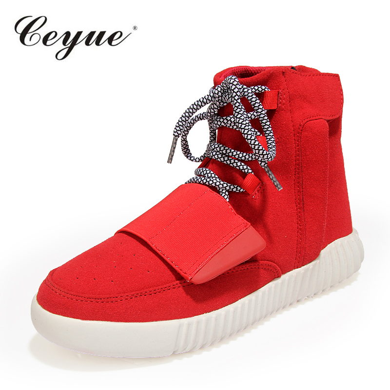 2017 Ceyue Winter Men Snow font b Boots b font Casual Men Cow Suede Moccasin Brand