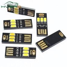 5Pcs 3 LEDs Night Light Lamp warm white Soshine Portable Mini USB Power Light Universal for notebook computer mobile