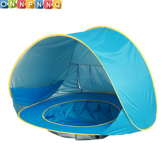 Baby Beach Tent Pop Up Kids Tent For Children Portable Shade Pool UV Protection Sun Shelter  sc 1 st  AliExpress.com : pop up kids tents - memphite.com