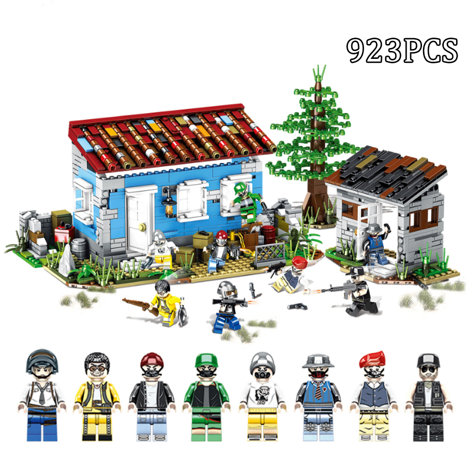 923PCS Military SWAT Speical Force Soldiers Weapon Guns Building Blocks Compatible Legoed Army WW2 Figures Toys For Children