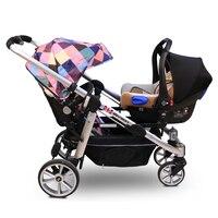 Безопасность детей Детское сиденье автомобиля увеличилась площадку ребенок стулья могут заменить сиденья корзина для shinnybb коляска близне