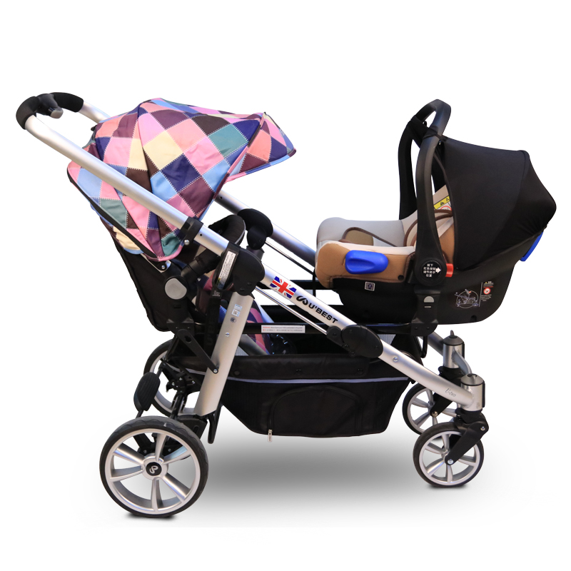 Child Safety Seat Baby Car Increased Pad Child Chairs Can Replace The Seat Basket Cart for shinnybb stroller twins stroller car стоимость