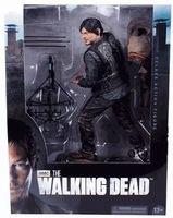 New Daryl Dixon with Crossbow Figurine TV Serie The Walking Dead 10 inch Action Figure