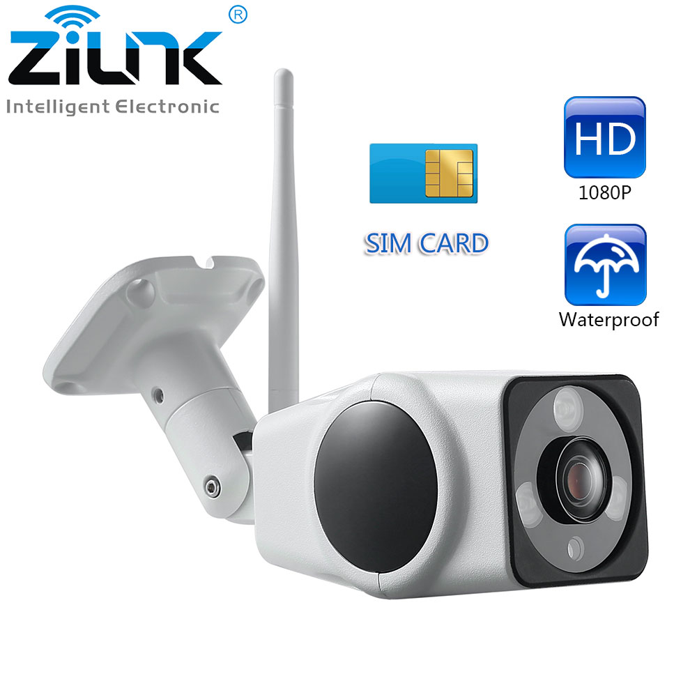 Image 2 - 3G 4G Camera Sim Card 2MP 1080P HD Outdoor Wireless Wifi IP Camera Security Bullet Waterproof Surveillance CCTV Camera-in Surveillance Cameras from Security & Protection