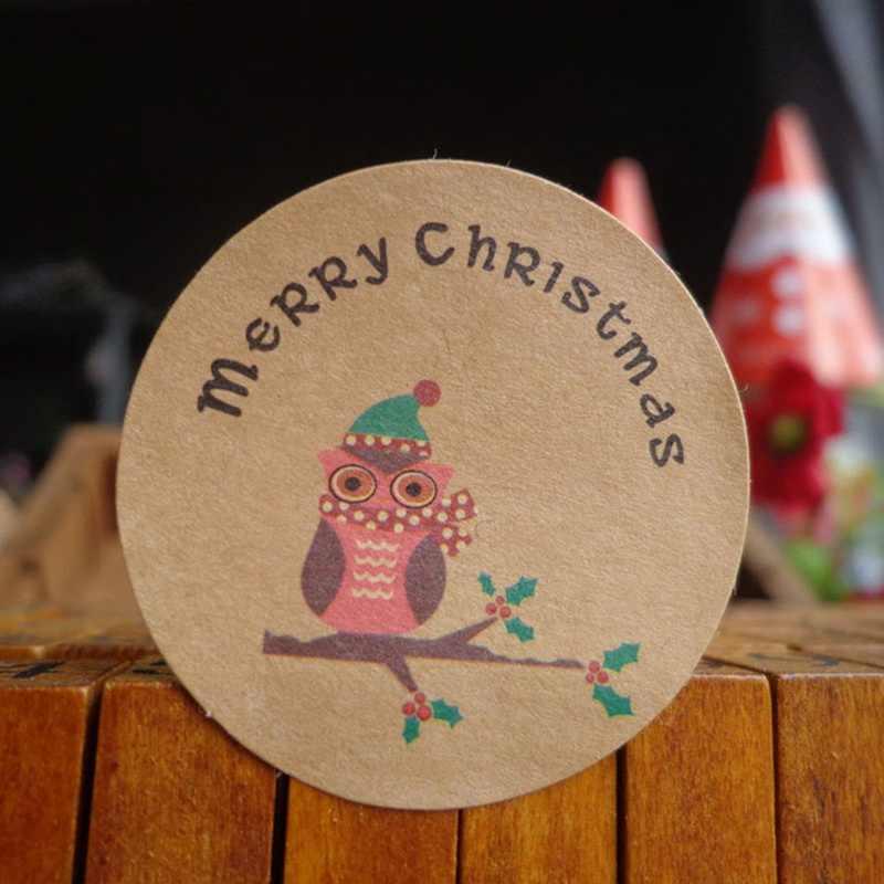 24 шт 2018 Горячая продажа веселая Рождественская елка сова ручной работы торт