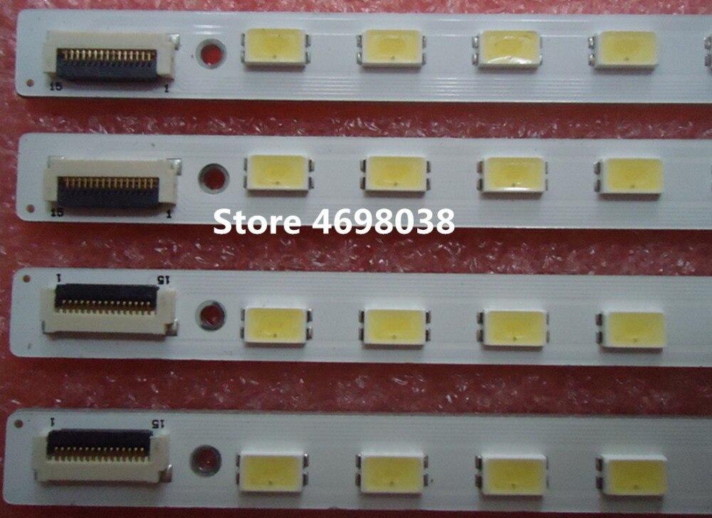 2pieces/lot Kdl-55hx72d Lty550hq03 Led Strip Lj64-02894a Lj64-02893a Sled_2011sls55_eql_r L 60_2d_rev0.2 60led 618mm Volume Large Tops & Tees