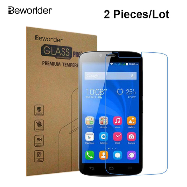 US $2 21 21% OFF|Beworlder For Huawei Honor 3C Lite 3C Play 2 Pcs/Lot  Tempered Glass Screen Protector Film For Honor Holly HOL U19-in Phone  Screen