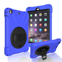 Heavy Duty Tablet Case Fundas PC Silicon Back Cover For IPad Mini 1 2 3 Protective