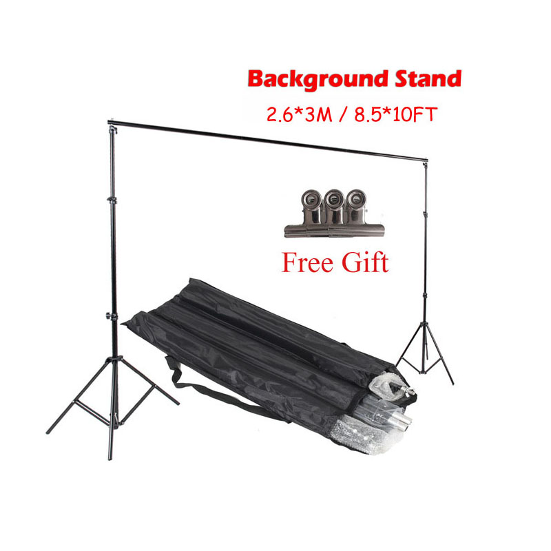 ASHANKS 8.5ft*10ft Background Stand Pro Photography Video Photo Backdrop Support System for Fotografia Studio with Carrying Bag ashanks d40 led lightbox photography lighting photographic studio equipment accesorios fotografia for photo studio