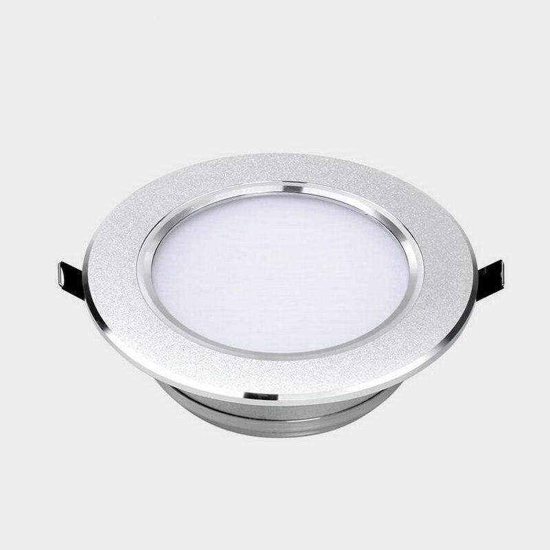Лидер продаж! 10 Вт LED Подпушка светильник потолочный Подпушка огни теплый/холодный Декоративные Встраиваемые Лампы для мотоциклов затемнен...