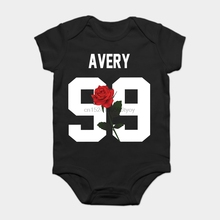 73ae0897 Baby Onesie Baby Bodysuits kid t shirt Fashion Cool Funny Jack Avery - Rose  Customized Printed