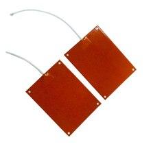 300x485 800w 220v w/термистор JSEX силиконовый нагреватель 3D принтер нагреватель лучшее качество с четырьмя отверстиями в углу