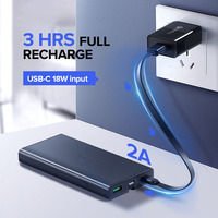 Ugreen 10000mAh Power Bank 18W Quick Charge 3.0 Powerbank External Battery Charger Pack For Xiaomi Mobile Phone Type C Poverbank 4