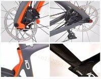 Дорога 700C 28 мм шин углерода велосипед BB30 БСА рама, Di2 дисковый тормоз углерода велосипед рама циклокросс велосипед карбоновая рама