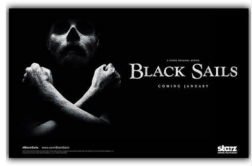 Black Sails Custom Silk Poster Wall Decor