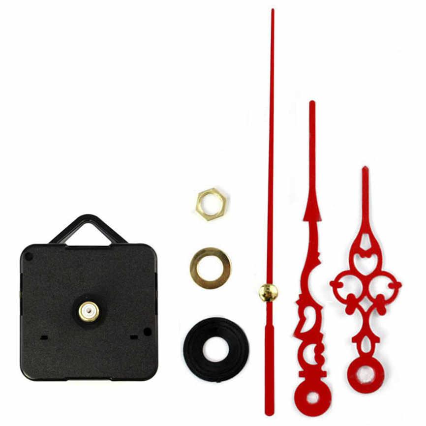 1 juego silencioso Reloj de pared grande mecanismo de movimiento para reloj de cuarzo piezas de reparación DIY Reloj de pared reloj movimiento con las manos Nov #1