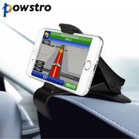 Powstro Universal Car Dashboard Cell Phone GPS Mount Holder Stand HUD Design Cradle New Free AliExpress