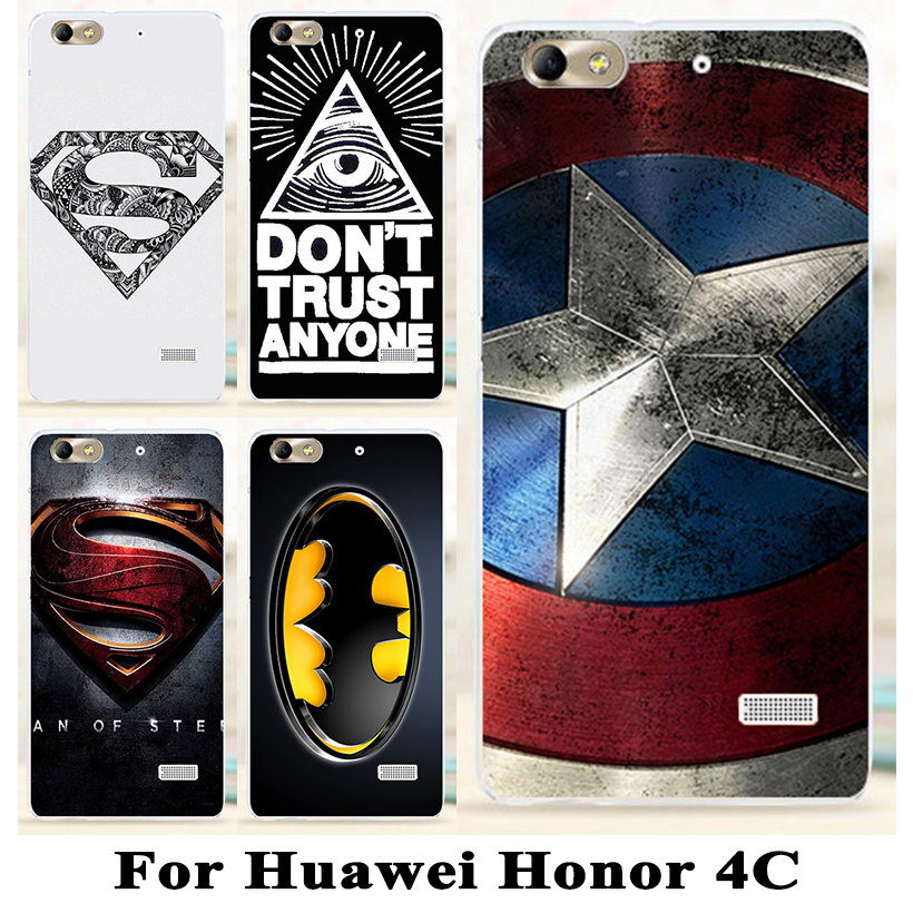 TAOYUNXI Phone Case Cover For Huawei G Play Mini Honor 4C C8818 Honor5 CHM-CL00 Honor Play 4C Silicone Plastic  Superman Cover