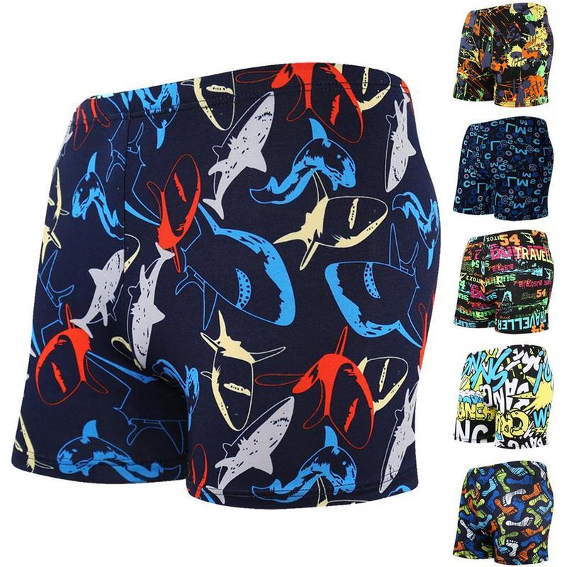 2019 New Summer Men's Swimwear Swimsuit Maillot De Bain Boy Swim Suits Boxer   Shorts   Swim Trunks Swimming Surf MEF6649