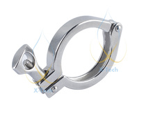 "2"" Tri-Clamp, Tri-Clover, Single Pin Clamp. Stainless steel 304 (China)"