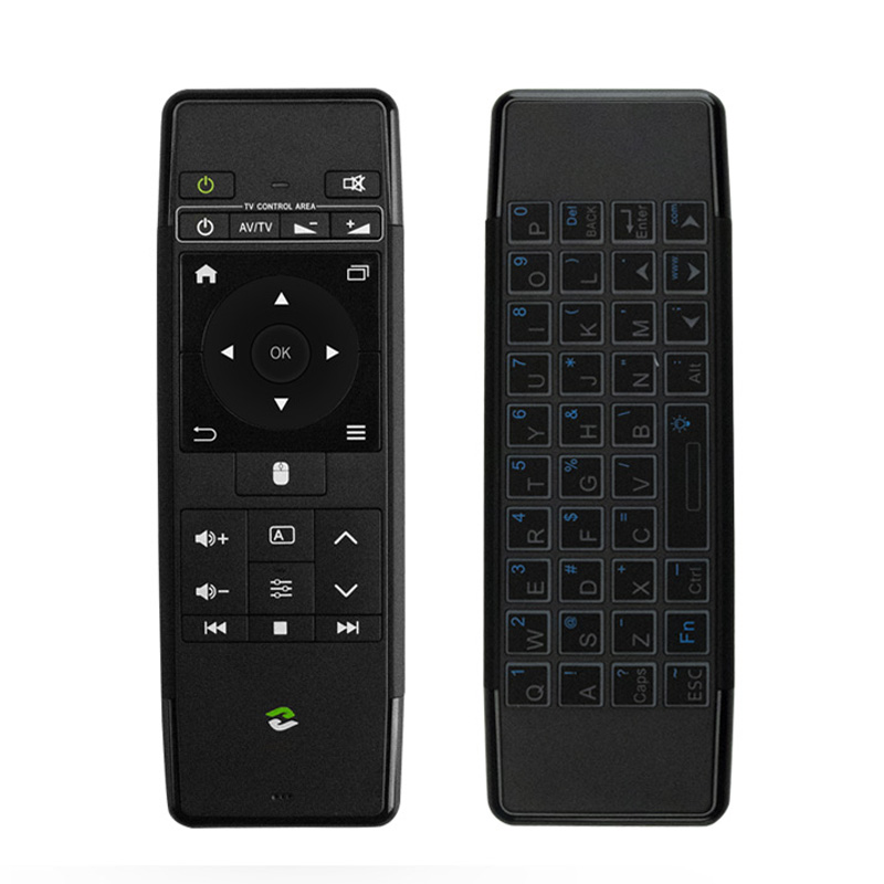 цена на ZIDOO V5Pro 2.4GHz Wireless Keyboard Handle Air Mouse with IR Remote for All ZIDOO TV BOX Zidoo X9S X10 X8 X7 H6 PRO X20 X20Pro