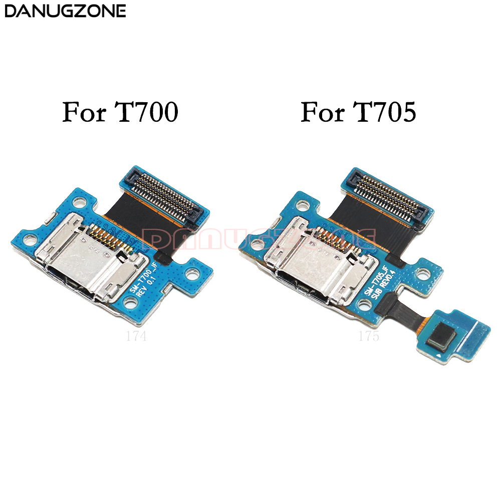 USB Charging Port Connector Plug Charge Dock Jack Socket Flex Cable For Samsung Galaxy Tab S 8.4 T700 T705 SM-T700 SM-T705