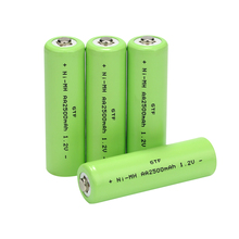 1-20Pcs Ni-Mh 1.2V 2500mah AA Rechargeable Battery NI MH Pre-Charged For Torch Toys Clock MP3 Player Replace Batterie