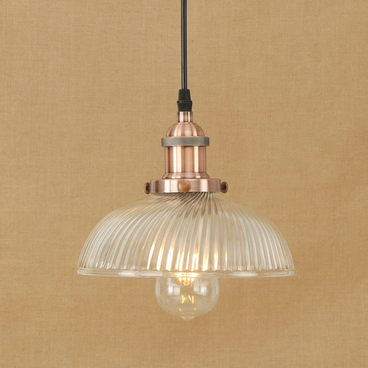 IWHD Iron Vintage Retro Hanging Lamp Style Loft Industrial Pendant Light LED Home Lighting Fixtures Kitchen Glass Iluminacion