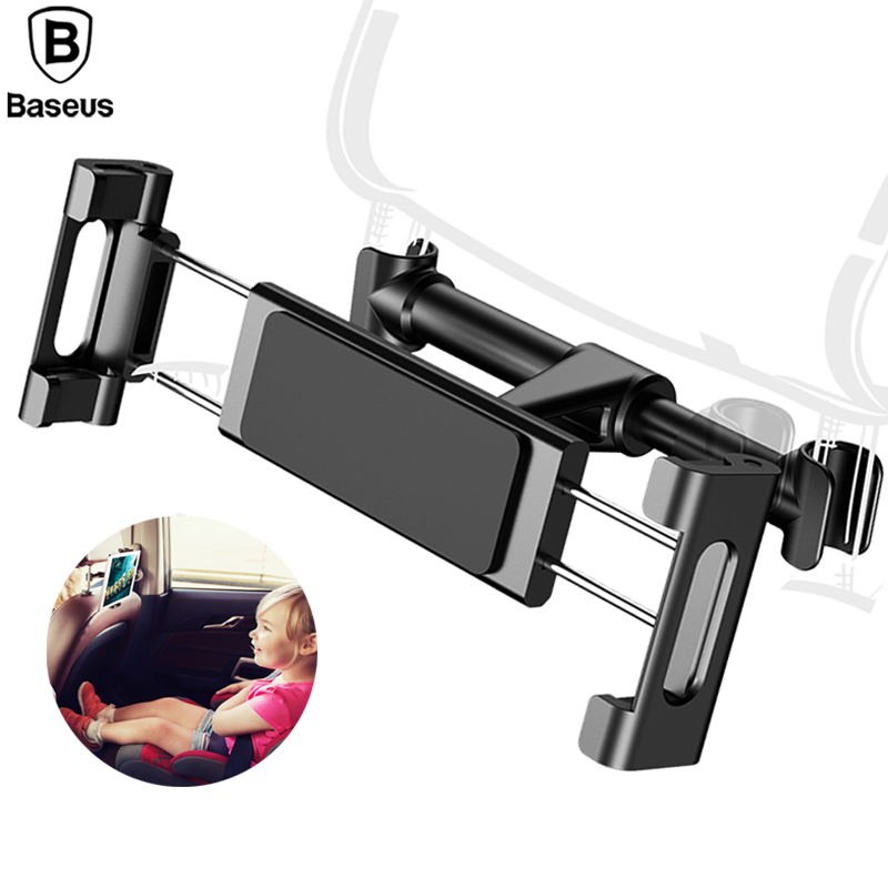 Baseus Backseat Car Holder For iPhone 8 X Adjustable Cell Phone Stand For Samsung S8 iPa ...