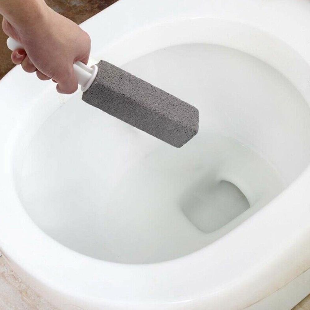 Портативная щетка для чистки туалета из пемзы, волшебная палочка, плитка, раковины, ванны, 360 градусов, инструмент для очистки