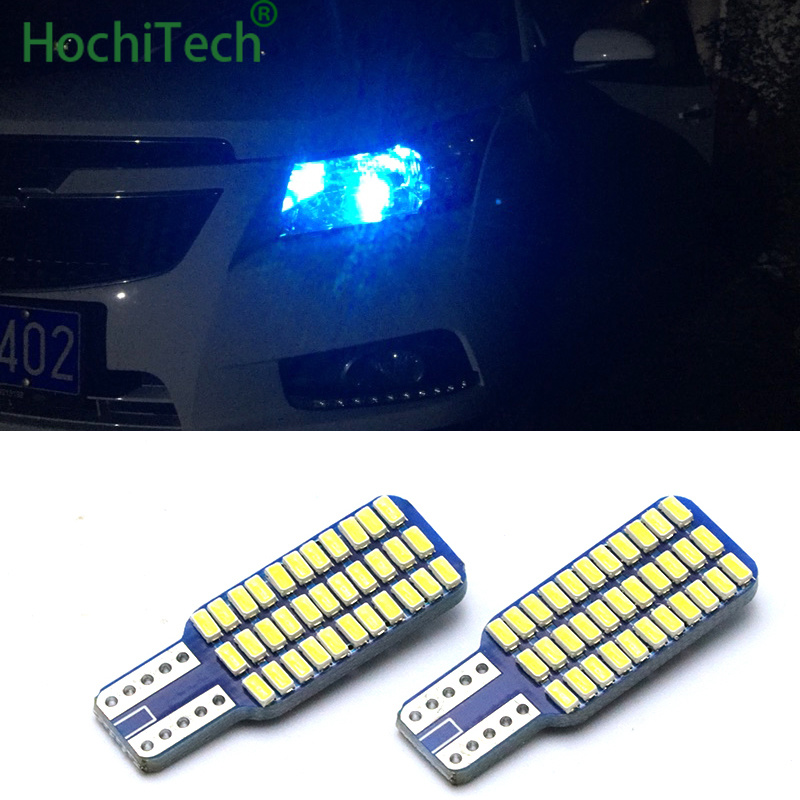 2PC T10 W5W Car <font><b>LED</b></font> Turn Signal Bulb <font><b>Canbus</b></font> Auto Interior Dome Reading Light Wedge Side Parking Reverse Brake Lamp <font><b>5W5</b></font> 33SMD image