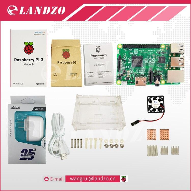 E Raspberry Pi 3 Model B starter kit pi 3 font b board b font pi