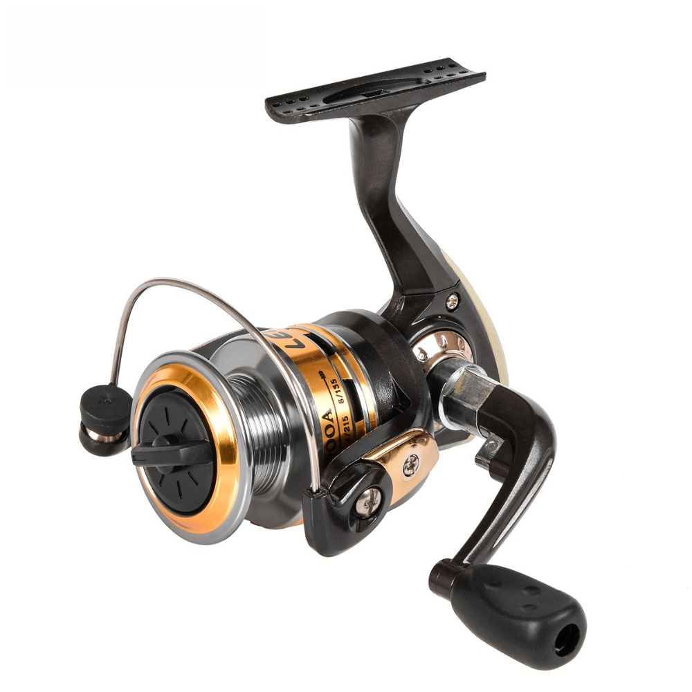 Fishing Reel 3-Axis Metal Spinning Wheel Throwing Line Rotating F Wire Cup