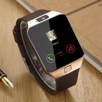 Montre intelligente Bluetooth DZ09 téléphone avec caméra Sim TF carte Android SmartWatch téléphone appel Bracelet montre pour téléphone intelligent Android