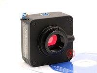Mikroskop USB3.0 yüksek hızlı endüstriyel kamera 510 Mega-piksel yüksek çözünürlüklü CCD kamera, elektronik mercek