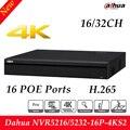 Envío Libre Dahua 16PoE 4 K y H.265 Pro de 16/32 Canales 1U Network Video Recorder HDMI H.265 NVR5216-16P-4KS2/NVR5232-16P-4KS2