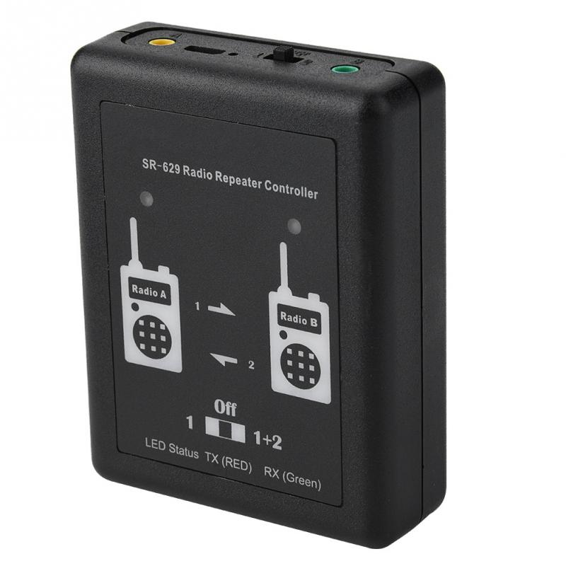 Two in one Cross Band Duplex Radio Repeater Relay Controller With Radio Cable