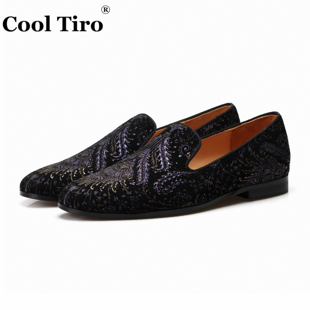 printing Mens Loafers With Tassels Flats (3)