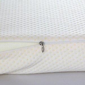Image 5 - 50*30 Cm Memory Foam Bed Kussen Vlinder Vormige Cervicale Kussen Voorgevormd Wedge Beddengoed Kussens Voor Slapen