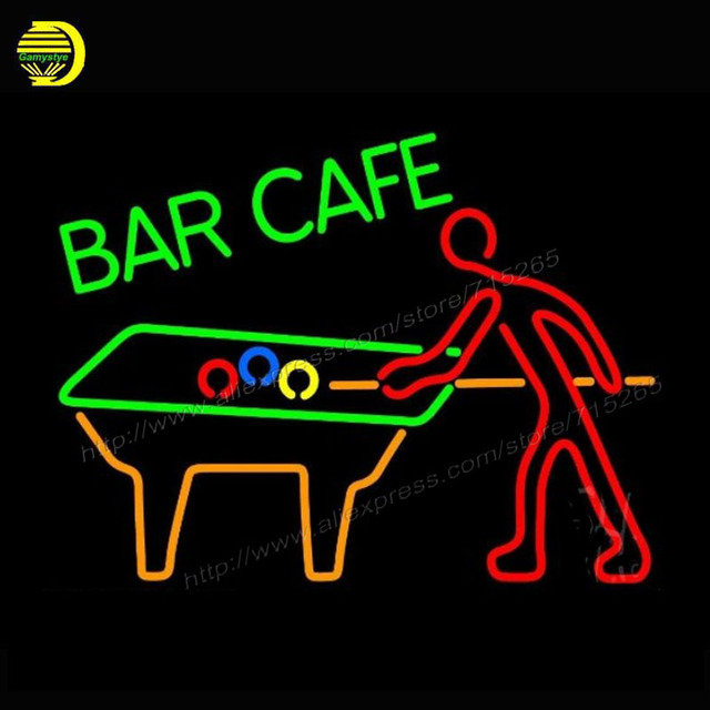 Aliexpress.com : Buy 2017 Neon Sign Bar Cafe With Pool