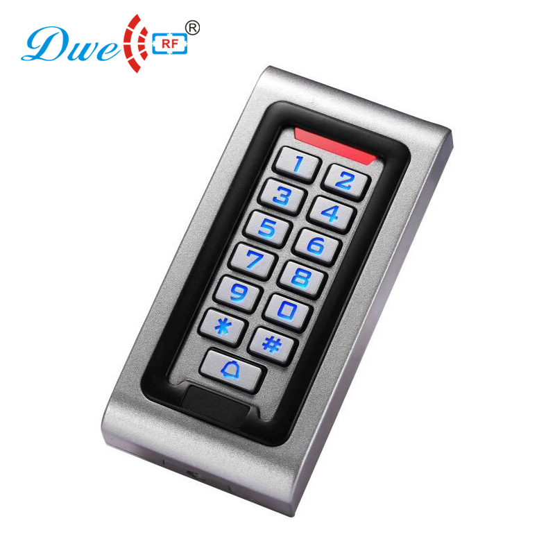 DWE CC RF access control keypads security systems waterproof stand alone single door access controller with keypad