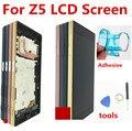 """Für Sony Xperia Z5 E6633 E6683 LCD Display Touchscreen Digitizer Montage mit Rahmen Dual karte 1920*1080 Für 5 2 """"Sony Z5 LCD-in Handy-LCDs aus Handys & Telekommunikation bei"""