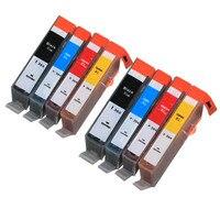 8 Uds BLOOM compatible 364 XL 364xl cartucho de tinta para HP Photosmart inalámbrico B109a B109d B109f B109n Deskjet serie 3070A 3520 de 3522 a 3524