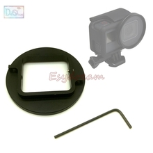 52 Lens Filter Adapter Voor Gopro Hero 5 6 7 Zwart Hero5 Hero6 Hero7 Toevoegen Cpl Uv Starlight Kleur soft Close Up Filters 52 Mm