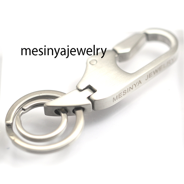 316 stainless steel car key rings keychains durable can use a lifetime
