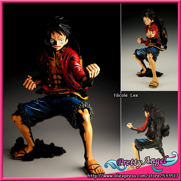 Japanese Anime Original Banpresto King of Artist The Monkey D. Luffy Color Version PVC Figure