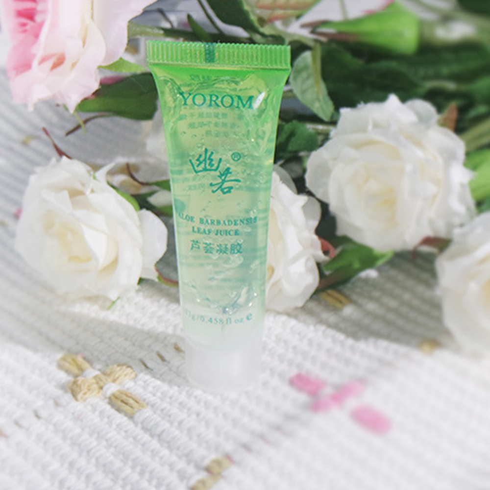 100% Natural Aloe Vera Gel Wrinkle Removal Moisturizing Anti Acne Anti-sensitive Oil-Control Aloe Vera Sunscreen Cream TSLM2