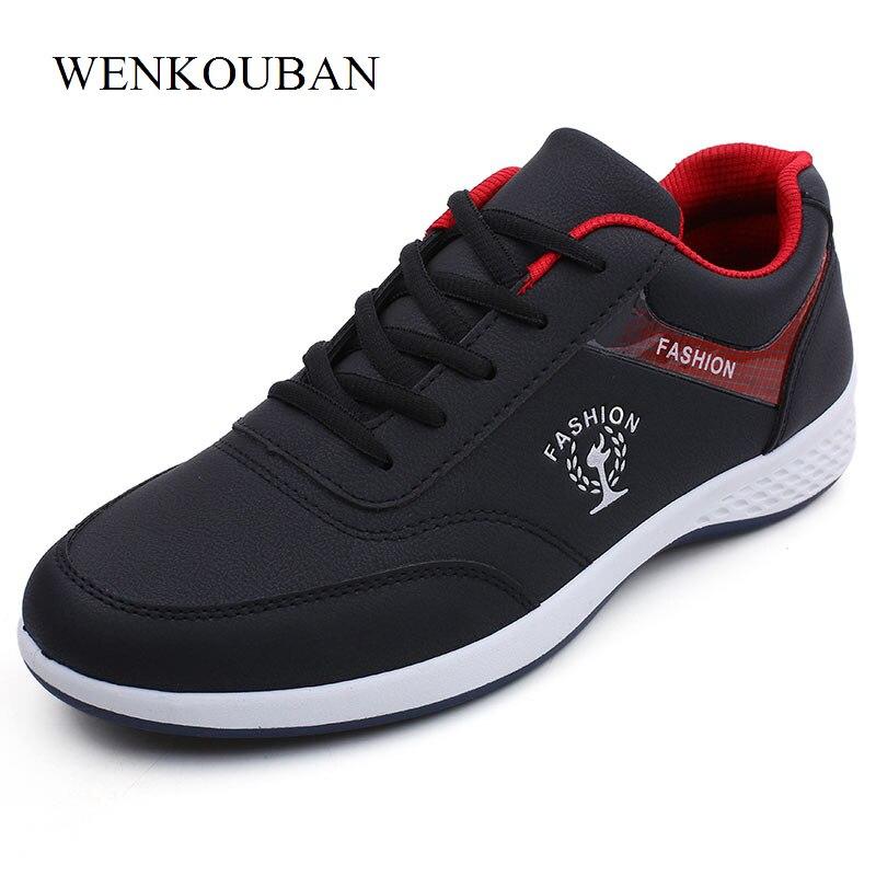 ddffc9dea2a De los hombres de la moda Zapatos casuales zapatos de pisos de verano  zapatillas de deporte respirables negro hombre blanco al aire libre zapatos  cómodos ...