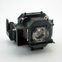 Lámpara del proyector del reemplazo con la vivienda elplp33/v13h010l33 para epson emp-tw20/emp-twd1/emp-s3/emp-twd3/emp-tw20h/emp-s3l
